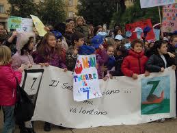 protesta del VII Circolo